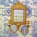 miroir XVIIIème au Chateau de la Barre