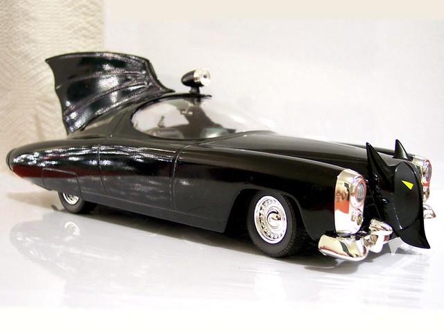 1950 Batmobile   Johnny Lightning's die-cast kit version ...
