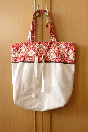 Market Bag, uncinched | by -claudine-
