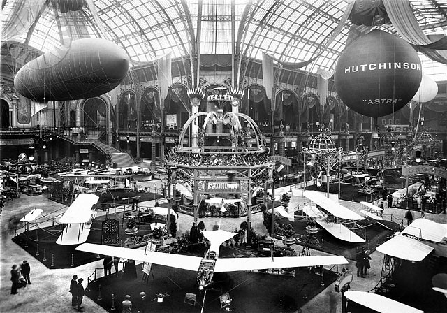 Events 1910 Paris 2e Exposition Internationale Aeronaut