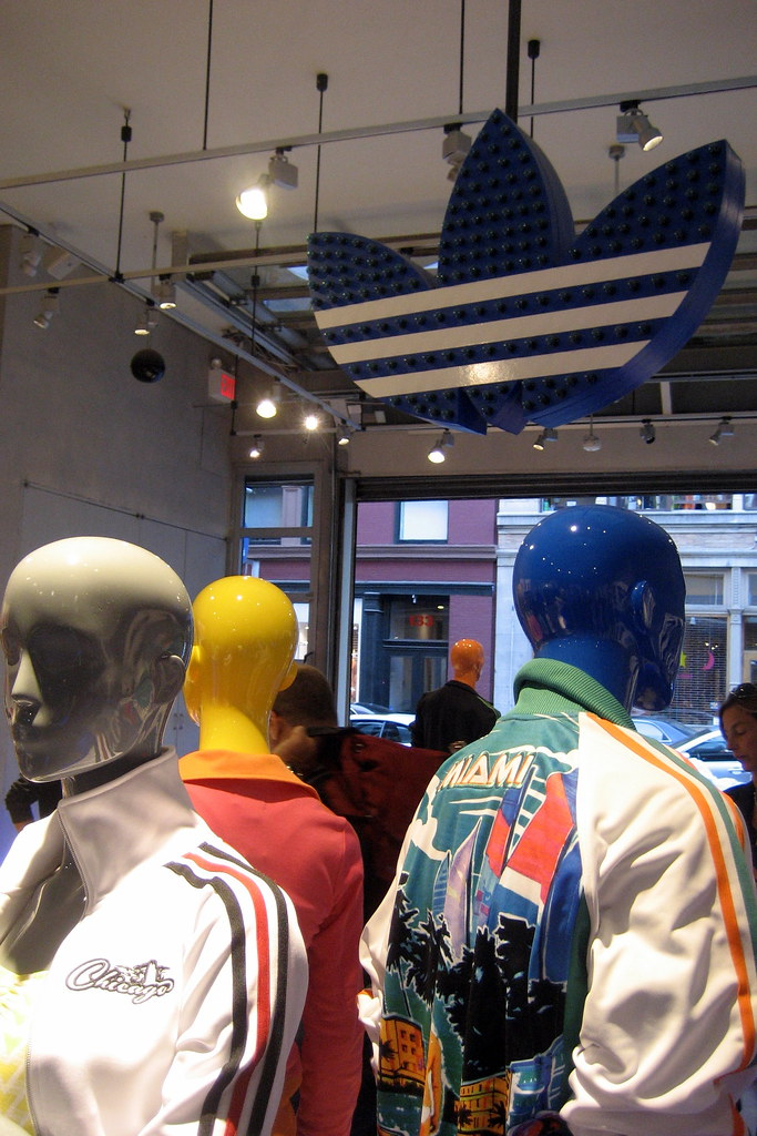 Nyc Soho Adidas Originals Store North America S First