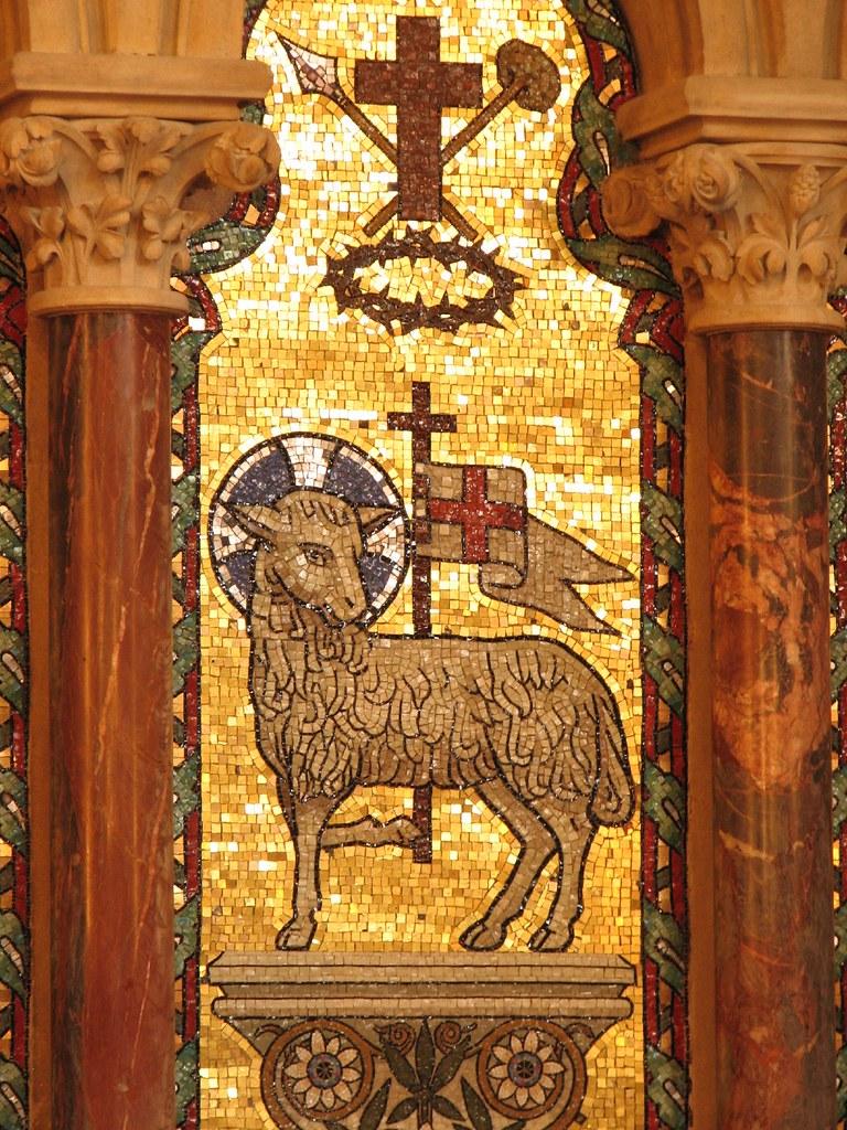 Agnus Dei | The Lamb is a symbol of Christ, the 'Agnus Dei ...