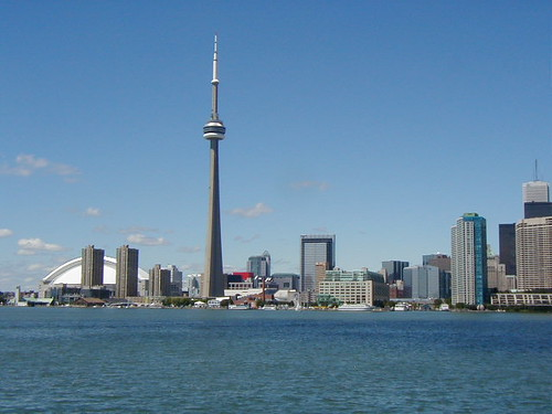 Toronto skyline: CN Tower | by SanGatiche