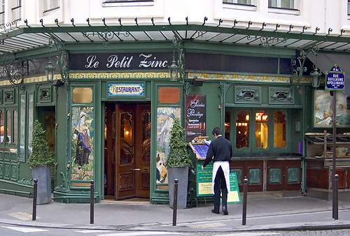 Rita crane photography paris historic cafe bistro r - Le petit salon paris ...