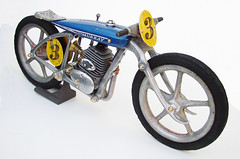 motorcycle racer sculpture | by Lockwasher