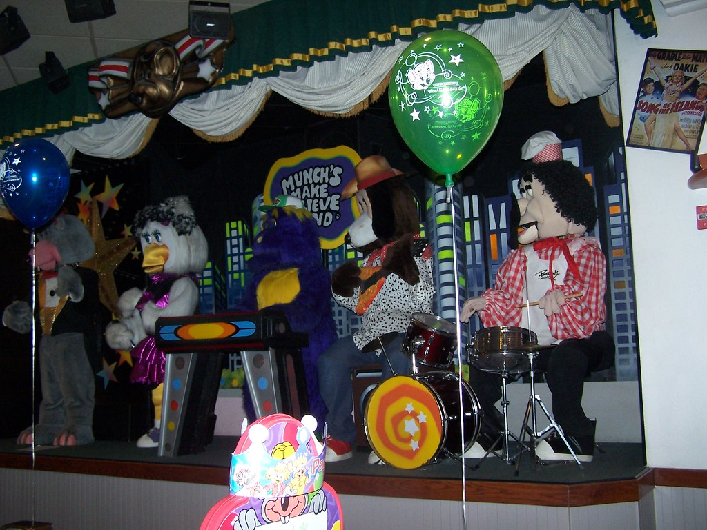 The Chuck E Cheese Band The First And Best