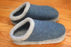 felted clogs | by earthchick