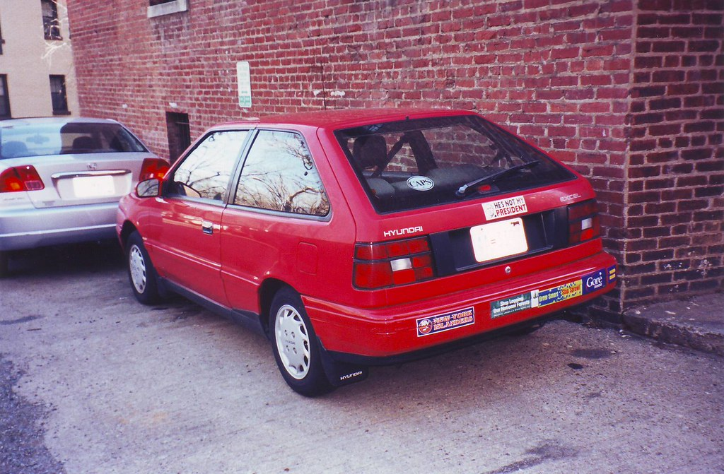 Hyundai Car Images >> My Old 1990 Hyundai Excel | My car from 1990 to 2000, the pe… | Flickr