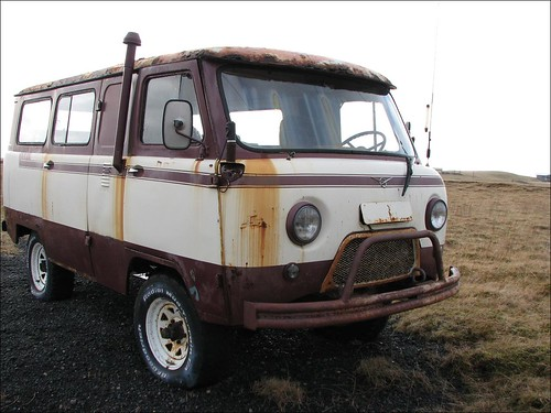 4x4 Van Camper >> UAZ Camper Van | Spotted this old 4WD UAZ (Ulyanovsky Avtomo… | Flickr