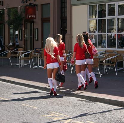 Eastbourne girls