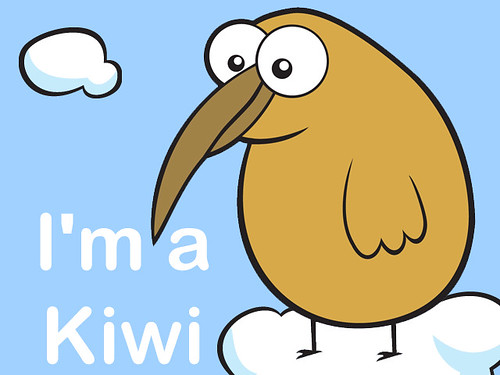 Kiwi Cartoon Drawing Cute Cartoon Kiwi 459038825