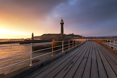 Whitby Pier | by mystery.me