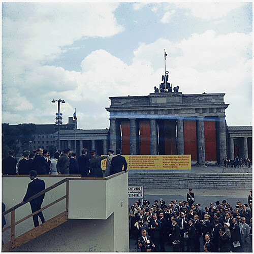 public domain jfk at brandenburg gate west germany by ro
