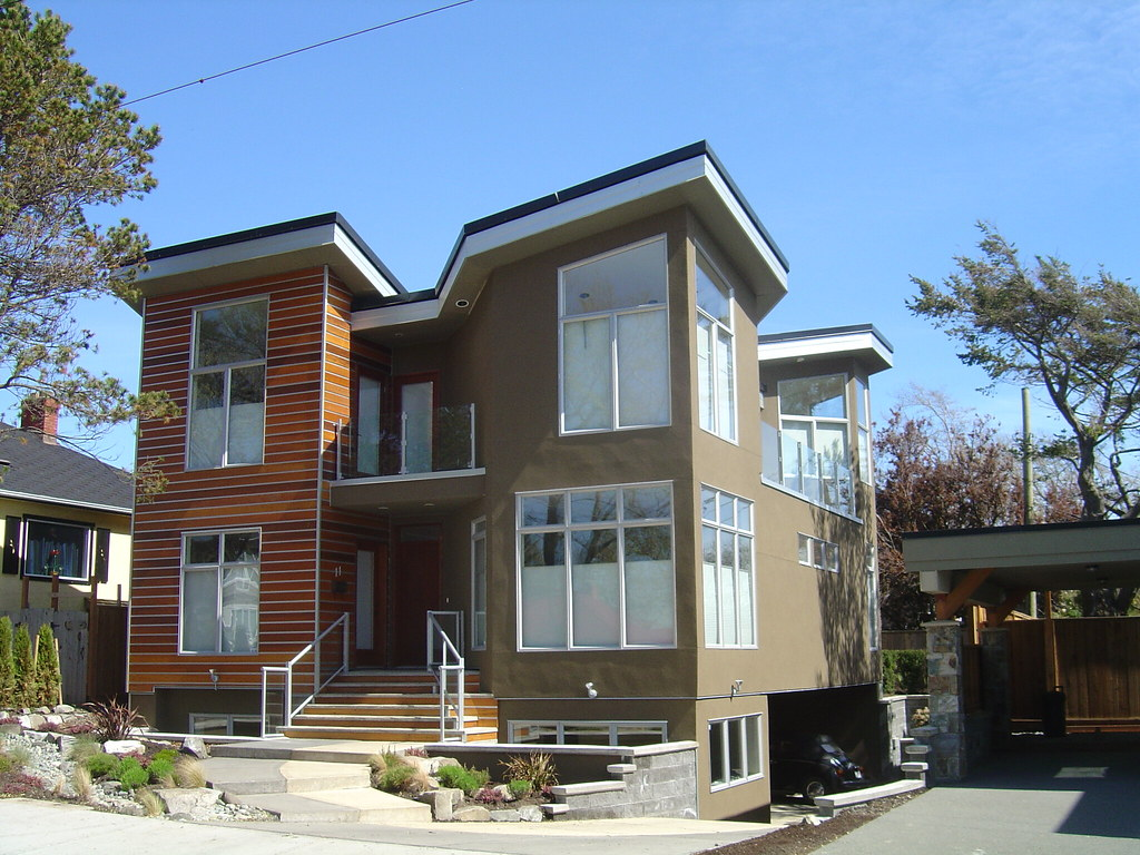 Modern house in victoria bc this is a new house in the for Modern energy efficient homes