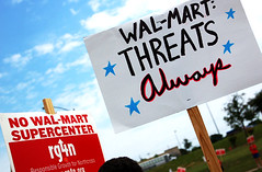 Northcross Mall Wal-Mart protest | May 19 | by That Other Paper