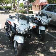 Police Motorcycles, Fullerton, California | by MR38.