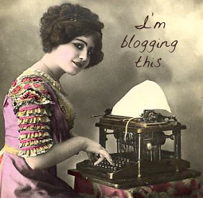 I'm blogging this. | by Foxtongue