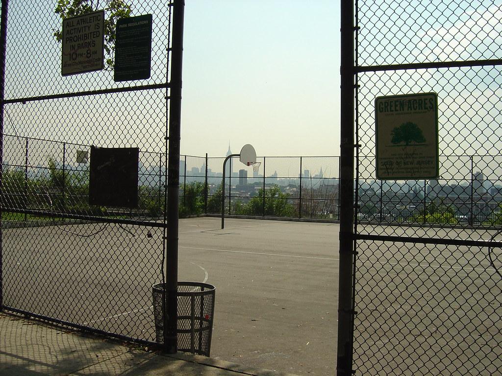 how to make a diy backyard basketball court