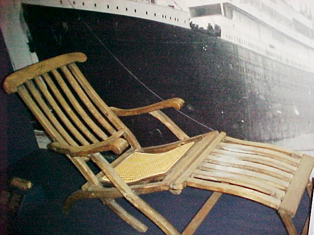 Deck Chair from the Titanic SibleyHunter
