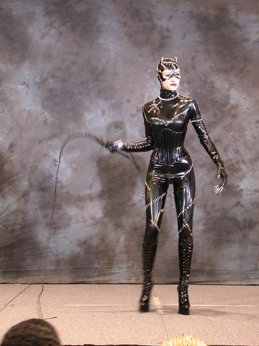 Masquerade Catwoman + Whip | by SoulCookie
