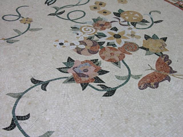 Tile Floor Design Bellagio Conservatory Las Vegas Flickr