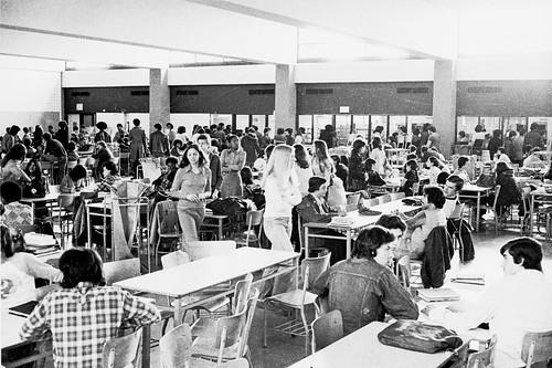 fdr lunchroom high school 1975 75 70s 1975 fdr hs