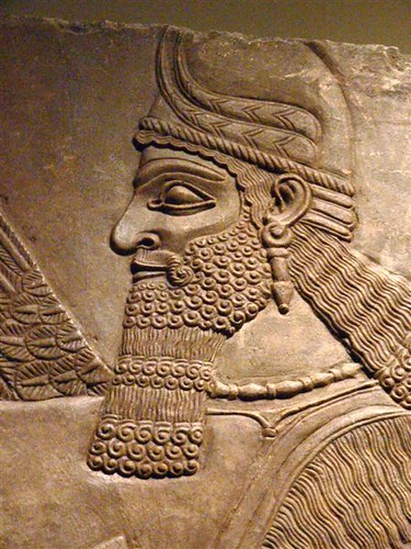 Assyrian Reliefs from the palace of Ashurnasirpal II in Nimrud Iraq 10 | by mharrsch