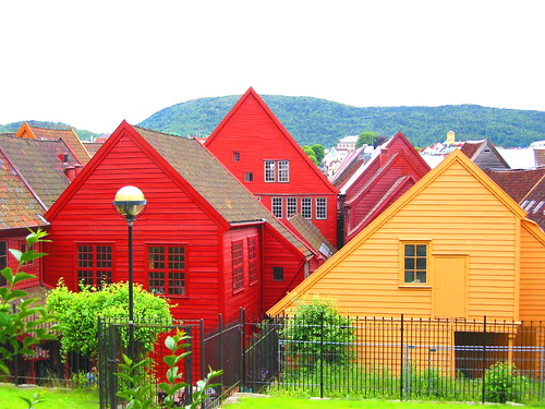 houses of Bryggen | by Farl