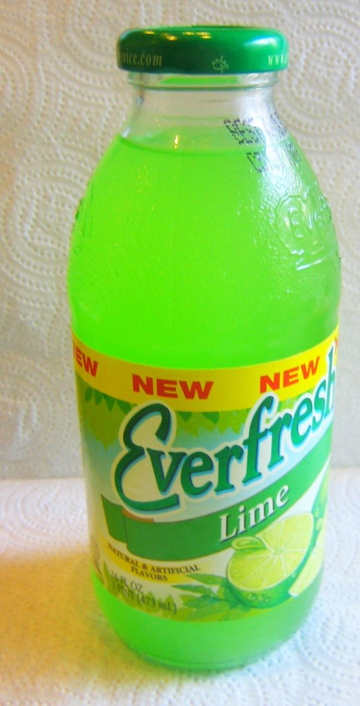 everfresh lime | Never saw it before. But it was so green ...