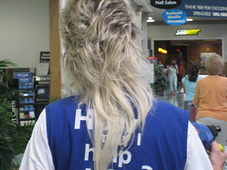 Wal-Mart Femullet From Behind | by SeymourSolo