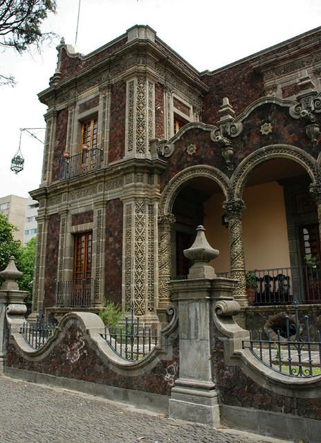 Rococo Style Stone House In Guadalajara Mexico House
