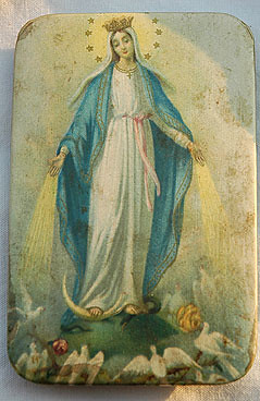 mary of miracles mary of miracles standing on a snake