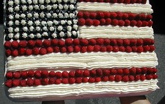American flag cake | by Chris and Jenni