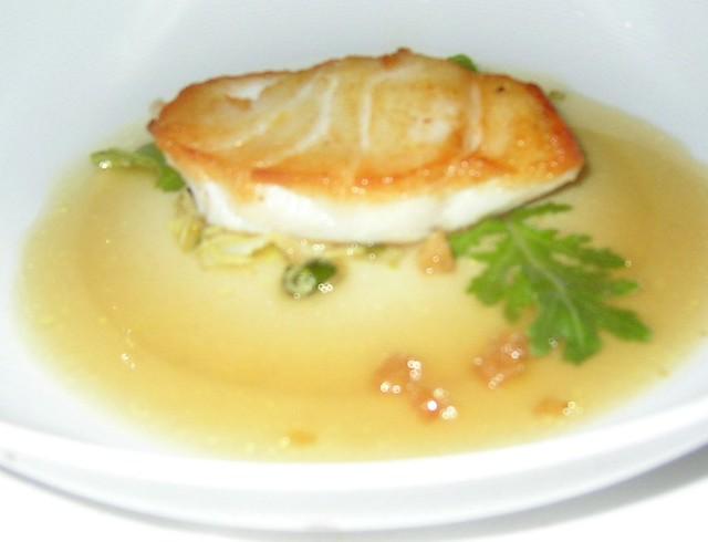 ... Bernardin Pan Roasted Codfish, Sautéed Baby Artichokes,… | Flickr