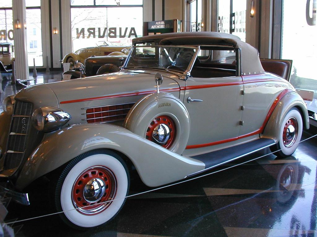 Auburn Car Taken At The Auburn Cord Dusenberg Museum In