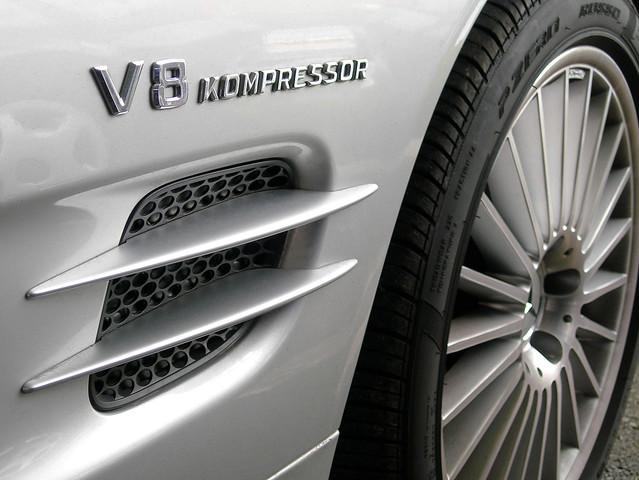 Mercedes v8 kompressor mercedes sl55 kompressor amg v8 for Mercedes benz v8 kompressor