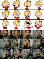 Some kid making Calvin Faces | by dogwelder