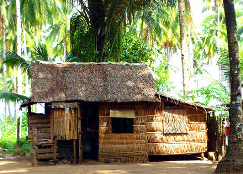 Nipa house in the countryside philippines by danny c si flickr - Vacation houses in the countryside ...
