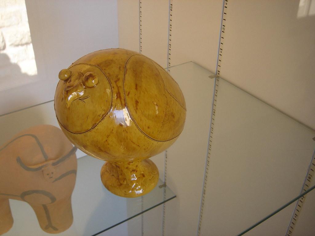 picasso owl sculpture picasso museum antibes vas flickr