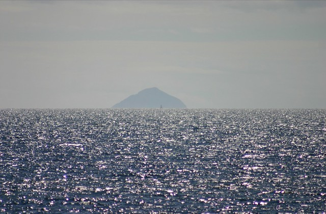 Ailsa Craig From Saltcoats Beach According To The Measurem Flickr