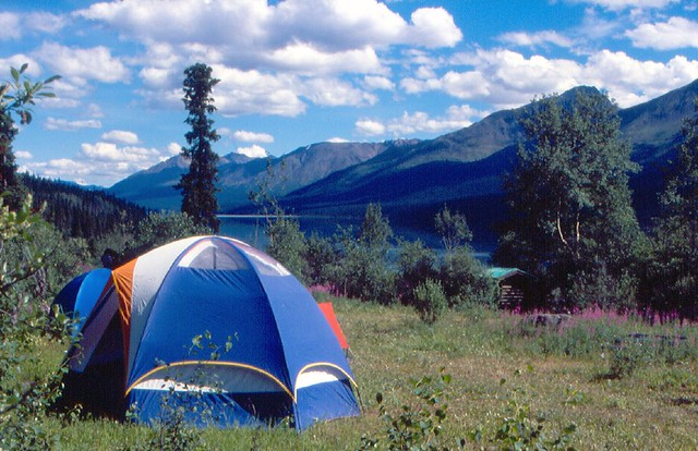 ... Tenting at Cold Fish Lake | by TFM & Tenting at Cold Fish Lake | Tad McIlwraith | Flickr
