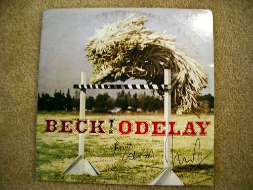 "Beck's ""Odelay"": Autographed! 