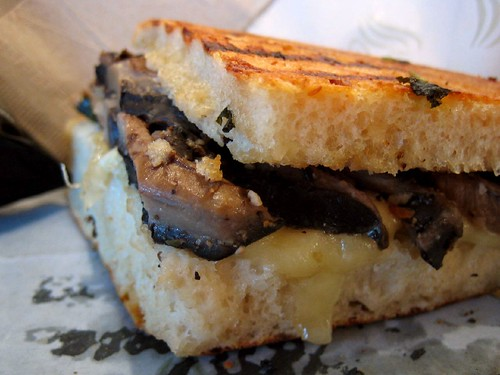 Portobello & Mozzarella Panini | by roboppy