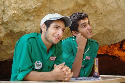Maronite Scouts At Qadisha Spring Charles Roffey Flickr