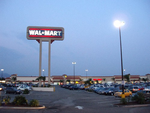 photos of wal mart parking lot duarte california august 2005 | by Brave New Films