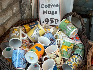 coffee mugs for 95p | by Sami Keinänen