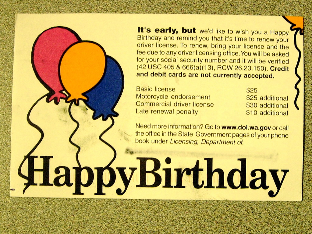 Worst Birthday Card Ever Happy Birthday Please Report Flickr