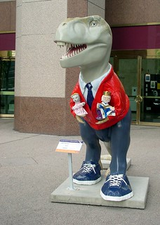 Fred Rogers Dinosaur | by elston