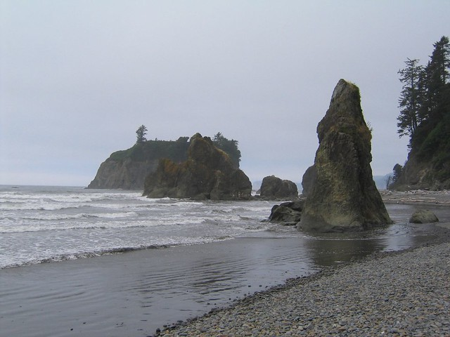 Ruby Beach Olympic National Park Is A Unesco World