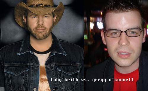 Toby Keith vs. Gregg O'Connell | by greggoconnell
